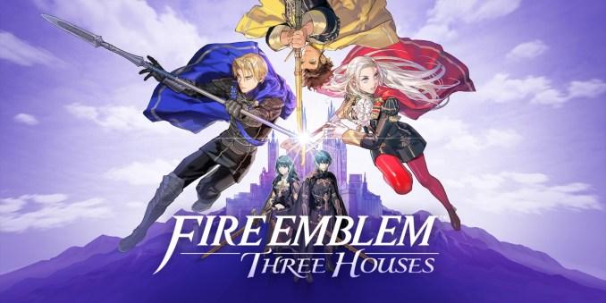 Dies ist das Titelbild von Fire Emblem: Three Houses.