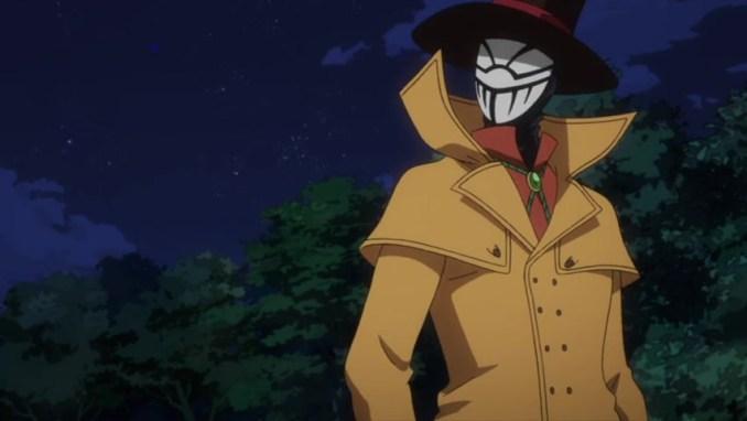 Das Bild zeigt Mr. Compress, einen der Bösewichte in My Hero One's Justice 2.