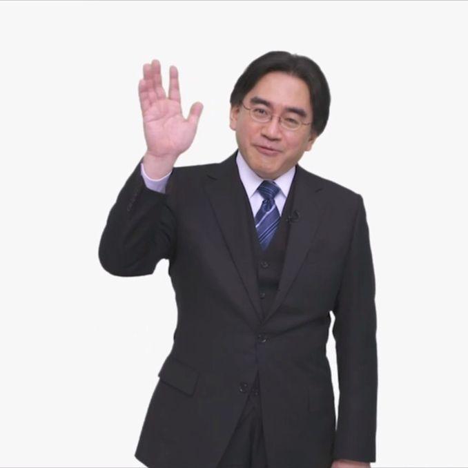 Das Bild zeigt den ehemaligen Nintendo-Präsidenten Satoru Iwata.