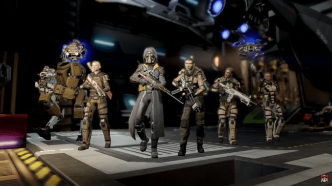 2K Games Bild einer Truppe Söldner aus XCOM 2