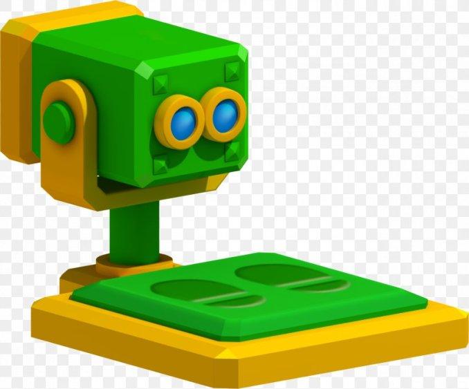 Das Bild zeigt eins der Mario-Ferngläser aus Mario 3D Land.