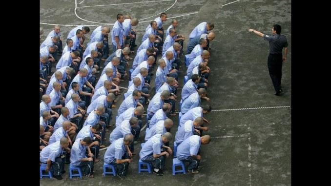 Das Bild zeigt ein chinesisches Arbeitslager, mit denen Nintendo in Verbindung steht.