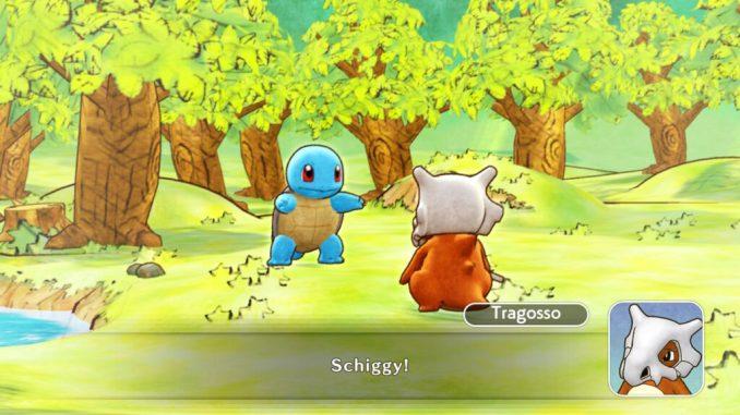 Das Bild zeigt Schiggy und Tragosso im Dialog.
