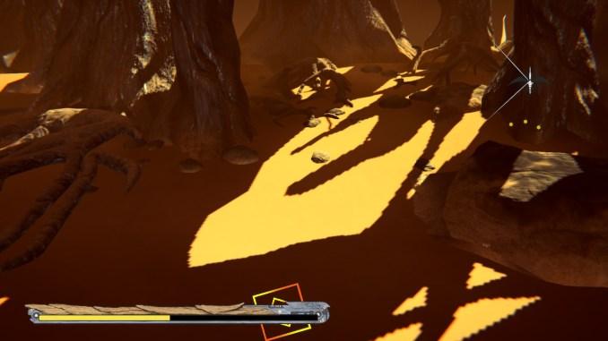 """Das Bild zeigt Treppenschatten aus """"Panzer Dragoon: Remake""""."""