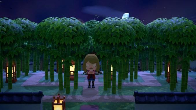 Dieses Bild zeigt die Wunsch-Funktion in Animal Crossing: New Horizons