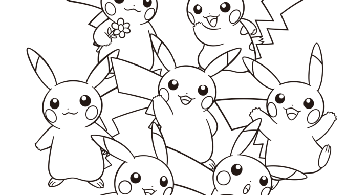 pokemon ausmalbilder pdf  kinder ausmalbilder