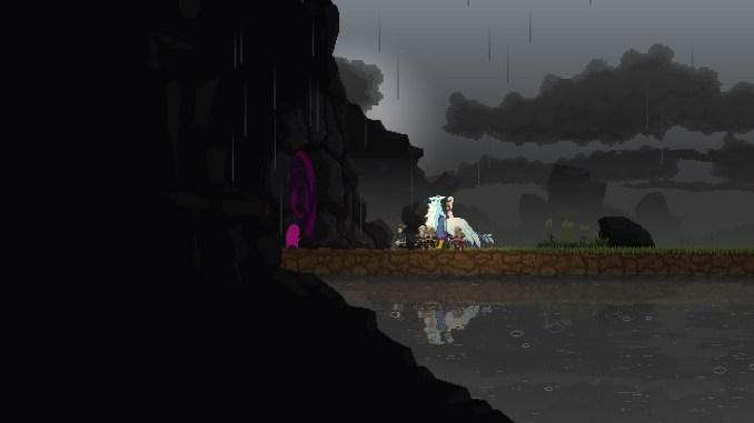 Auf dem Bild ist die Endbosshöhle einer jeden Insel zu sehen.