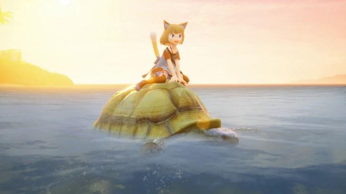 """Das Bild zeigt eine Szene aus """"Giraffe And Annika""""."""