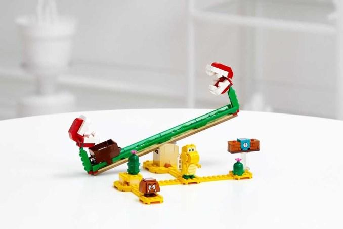 Auf dem Bild ist das Piranha Starter Packet von Lego-Mario zu sehen.