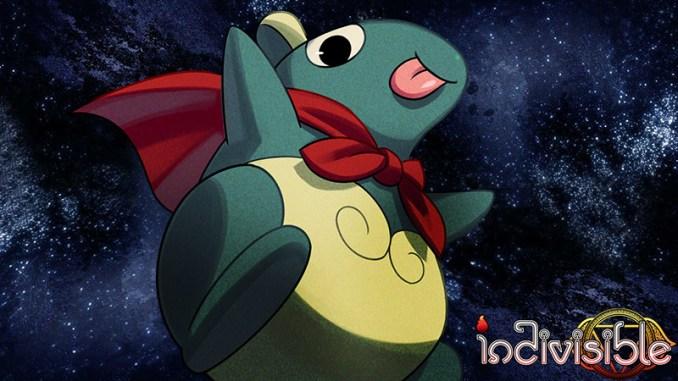 """Das Bild zeigt den Charakter Roti – Ein riesiges Wesen aus """"Indivisible""""."""