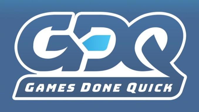 Zu sehen ist das Games Done Quick Logo