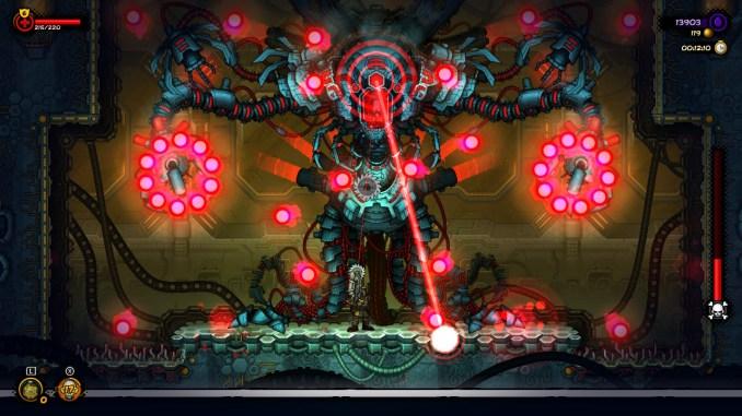 """Das Bild zeigt einen der Hauptbosse aus """"Fury Unleashed""""."""