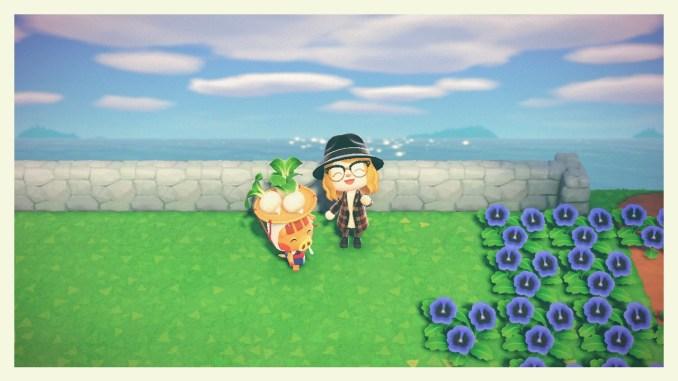 """Das Bild zeigt Jorna in """"Animal Crossing: New Horizons""""."""