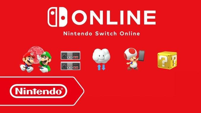 Das Bild zeigt eine Veranschaulichung des Aboservices Nintendo Switch Online. Nintendos digitale Verkäufe steigen parallel.