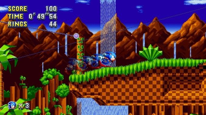 """Das Bild zeigt Action aus """"Sonic Mania""""."""