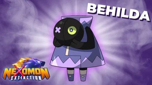 Das Bild zeigt Behilda das Geisterwesen.