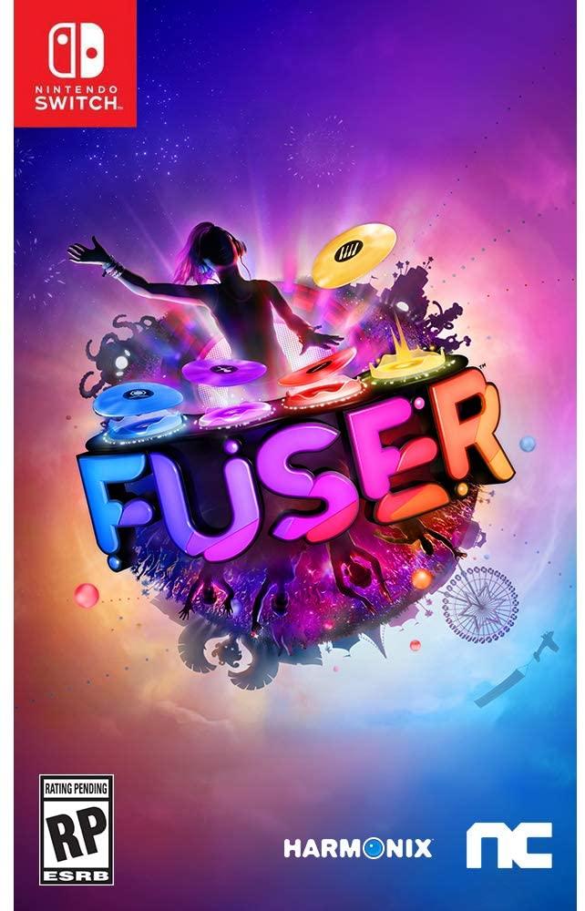 """Das Bild zeigt das Cover der physischen Fassung von """"Fuser""""."""