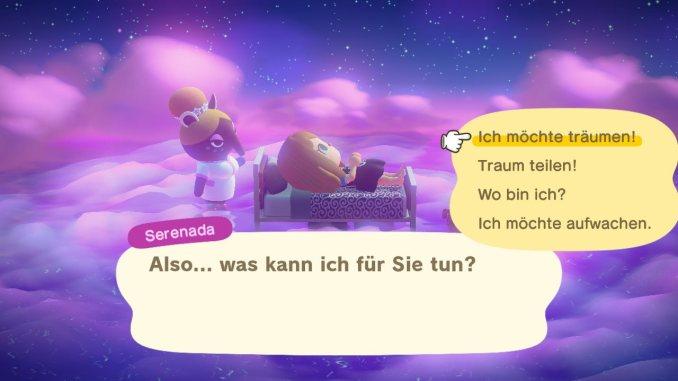"""Das Bild zeigt das Schlummerland in """"Animal Crossing: New Horizons""""."""