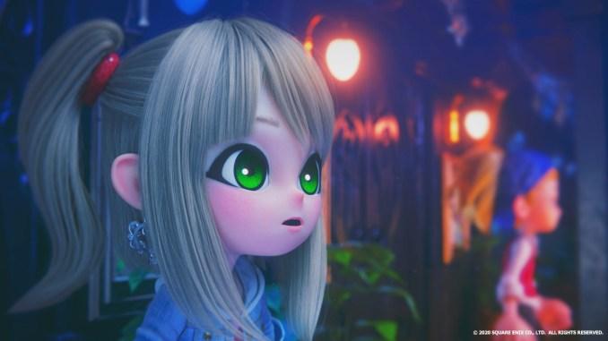 """Das Bild zeigt die Protagonistin aus """"Balan Wonderworld""""."""