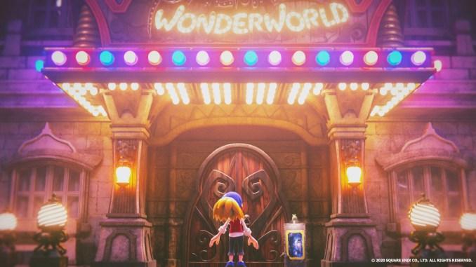 """Das Bild zeigt den Protangisten vor der Show in """"Balan Wonderworld""""."""