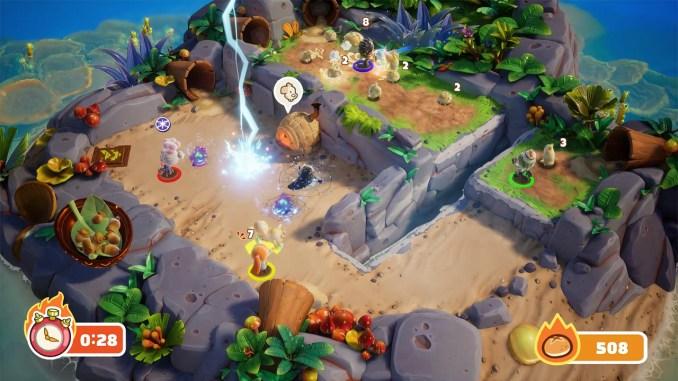 """Das Bild zeigt eine Szene aus dem Spiel """"Bake 'n Switch""""."""