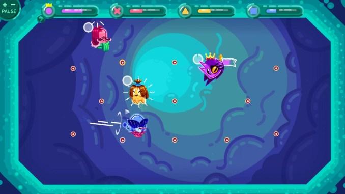 """Das Bild zeigt eine Szene aus dem Spiel """"Gerrrms""""."""