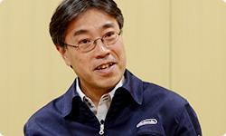 Das Bild zeigt Ko Shiota, Leiter der Hardwareabteilung bei Nintendo.