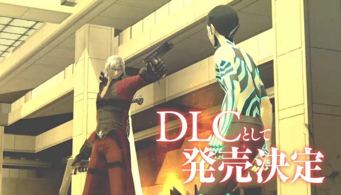 """Das Bild zeigt den durch das Maniax Pack verfügbaren Charakter Dante aus der """"Devil May Cry""""-Reihe."""