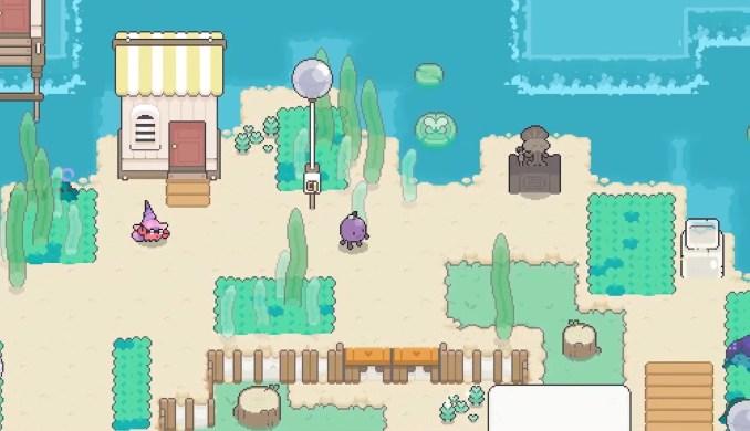 """Das Bild zeigt die Insel in """"Garden Story""""."""