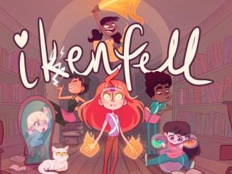 """Das Bild zeigt das Logo des Spieles """"Ikenfell""""."""