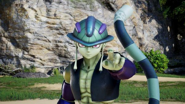 Das Bild zeigt den Charakter Meruem aus Hunter x Hunter.