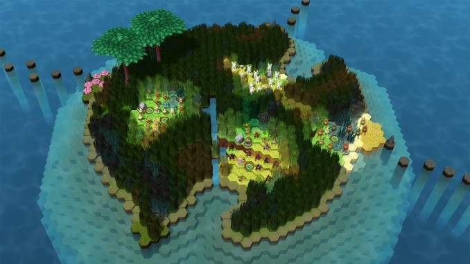 """Das Bild zeigt eine Szene aus dem Spiel """"Niche - a genetics survival game""""."""
