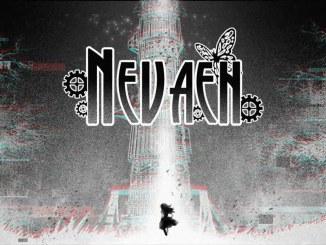 """Das Bild zeigt das Logo des Spieles """"Nevaeh""""."""