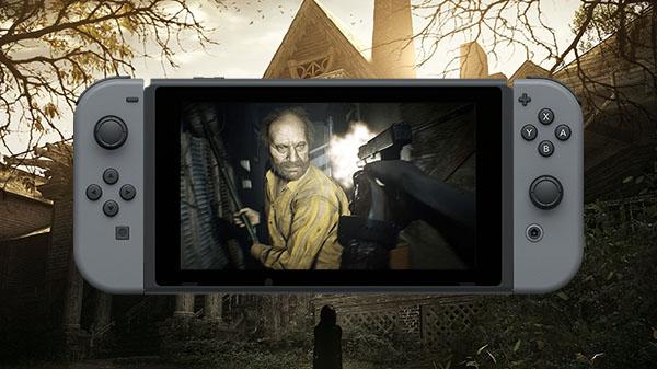"""Das Bild zeigt """"Resident Evil 7"""" auf der Switch."""
