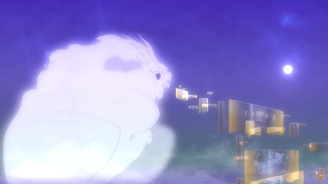 """Das Bild zeigt einen Geist aus dem Spiel """"Spiritfarer""""."""