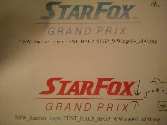 """Das Bild zeigt den potenziellen Fake-Leak zu """"Star Fox Grand Prix""""."""