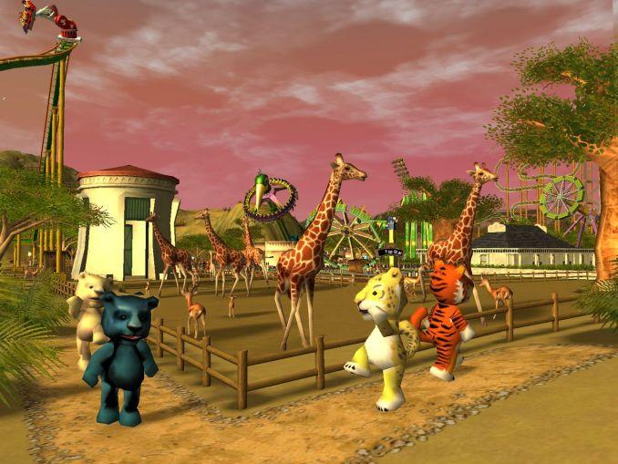 Dieses Bild zeigt Safari aus RollerCoaster Tycoon 3