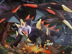 """Das Bild zeigt einen riesigen Drachen aus dem Spiel """"Nexomon: Extinction""""."""