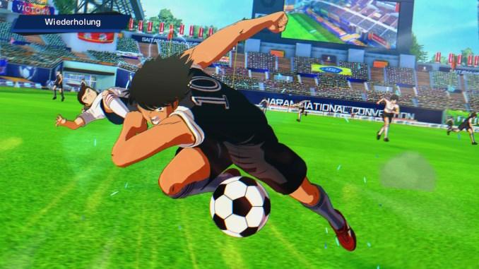 Dieses Bild zeigt wie Hyuga mit Kraft Gegner austrickst