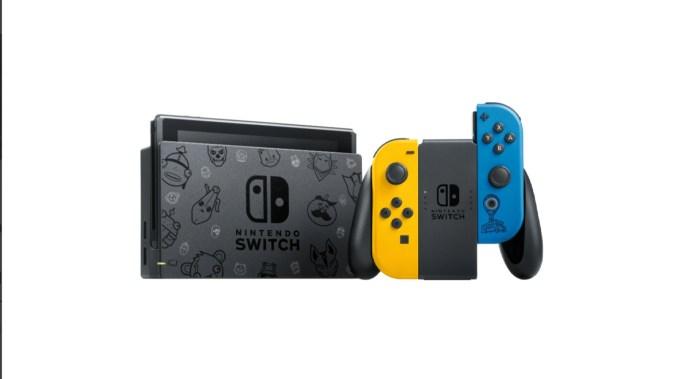 Das Bild zeigt die Nintendo Switch Fortnite Special Edition.