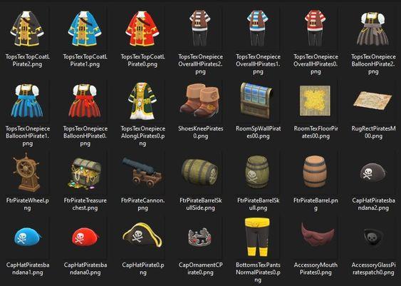 """Das Bild zeigt alle möglichen Items von Gullivarrr in """"Animal Crossing: New Horizons""""."""