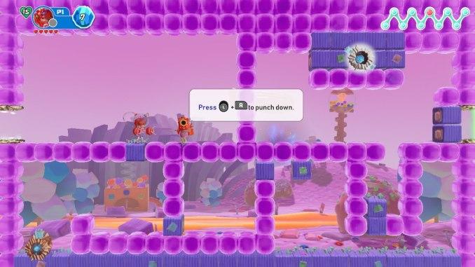 """Das Bild zeigt ein Level aus dem Spiel """"Georifters""""."""