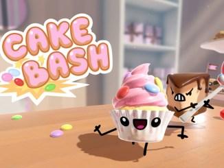 """Das Bild zeigt das Logo von """"Cake Bash""""."""