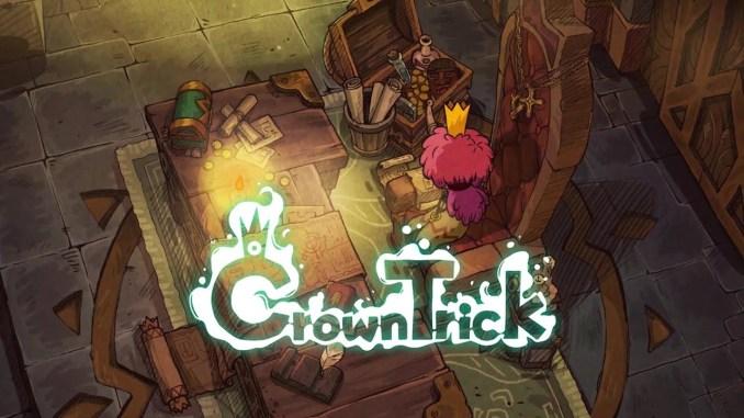 """Das Bild zeigt das Logo von """"Crown Trick""""."""