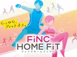 """Das Bild zeigt das Logo von """"FiNC HOME FiT""""."""