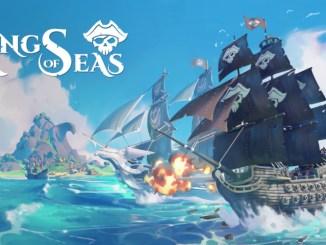 """Das Bild zeigt das Logo von """"King of Seas""""."""