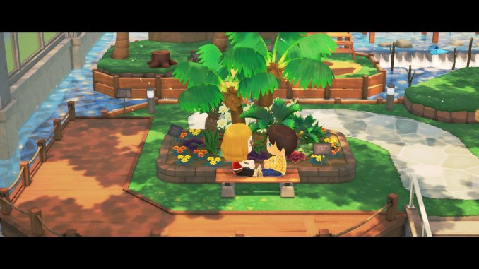 "Das Bild zeigt ein Date in ""Animal Crossing: New Horizons""."