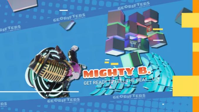 """Das Bild zeigt Mighty B. einen Charakter aus dem Spiel """"Georifters""""."""