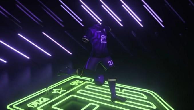 """Das Bild zeigt eine Szene aus dem Teaser-Trailer zu """"Football Manager 2021 Touch""""."""