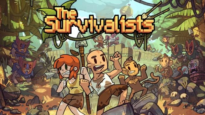 """Das Bild zeigt das Logo von """"The Survivalist""""."""